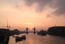 London Bridge sunrise