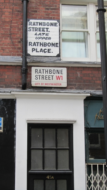 What was Upper Rathbone Place